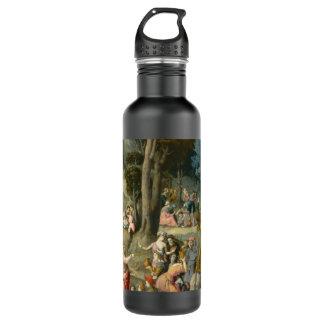 La reunión del maná - Francisco Bacchiacca Botella De Agua