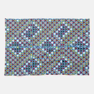 La reunión del modelo de la textura de NOVINO Toallas De Mano