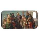 La reunión entre Titian (1488-1576) y Verones iPhone 5 Fundas