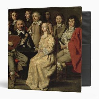 """La reunión musical, 1642 carpeta 1 1/2"""""""