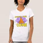 La Reunión-o obedece el cono Camiseta