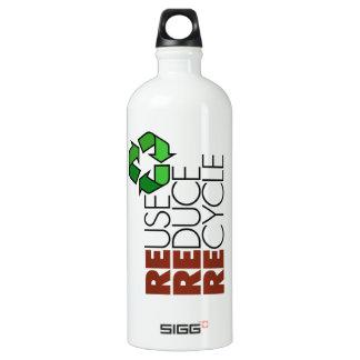 La reutilización reduce recicla 32 onzas