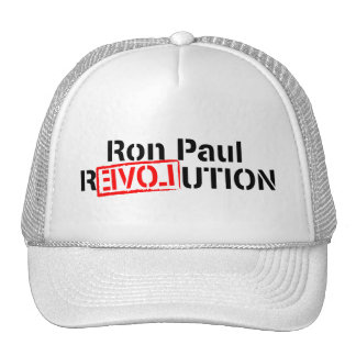 La revolución de Ron Paul continúa Gorra