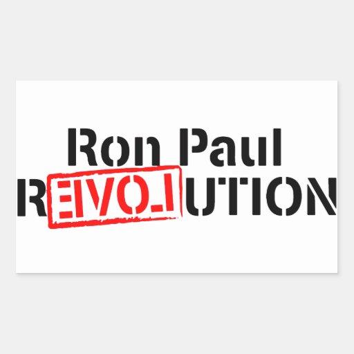 La revolución de Ron Paul continúa Pegatina