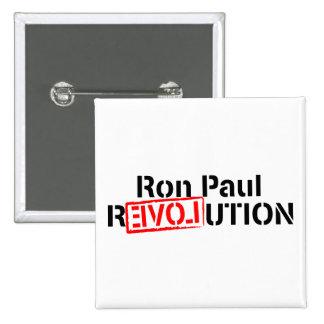 La revolución de Ron Paul continúa Pin Cuadrado
