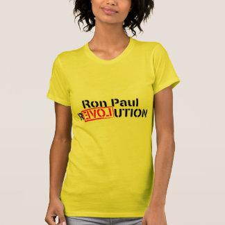 La revolución de Ron Paul continúa Playeras