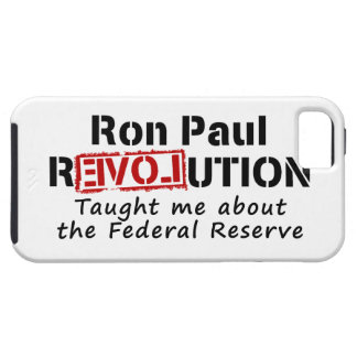La revolución de Ron Paul me enseñó a Federal Funda Para iPhone SE/5/5s