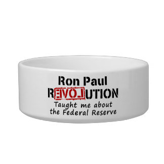 La revolución de Ron Paul me enseñó a Federal Rese Comedero Para Mascota