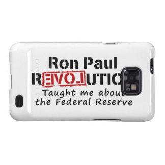 La revolución de Ron Paul me enseñó a Federal Rese Samsung Galaxy S2 Carcasas