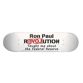 La revolución de Ron Paul me enseñó a Federal Rese Patineta Personalizada