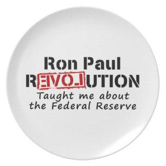 La revolución de Ron Paul me enseñó a Federal Rese Platos De Comidas