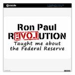 La revolución de Ron Paul me enseñó a Federal Rese Skin Para El MacBook