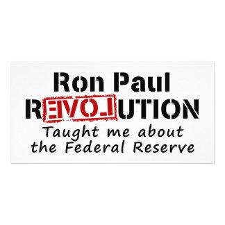 La revolución de Ron Paul me enseñó a Federal Rese Tarjetas Fotográficas