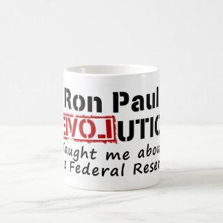 La revolución de Ron Paul me enseñó a Federal Taza De Café