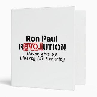 La revolución de Ron Paul nunca da para arriba lib