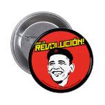¡La Revolucion de Viva! Botón redondo Pin