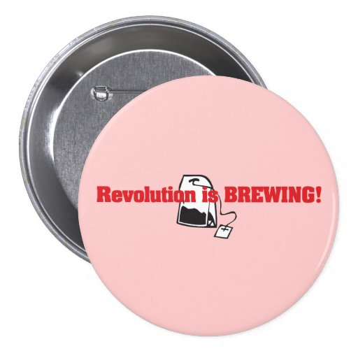 La revolución está elaborando cerveza pins