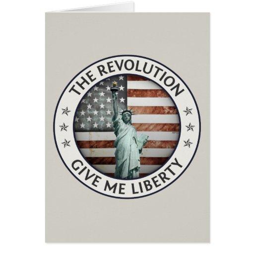 La revolución felicitaciones