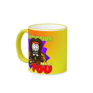La Revolucion Needs You Mug