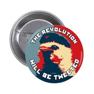La revolución será piada pin redondo 5 cm