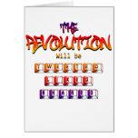 La revolución será piada tuvo gusto y compartido ( felicitación