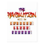 La revolución será piada tuvo gusto y compartido ( postal