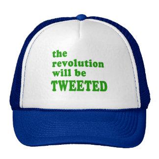 La revolución será productos piados gorras de camionero