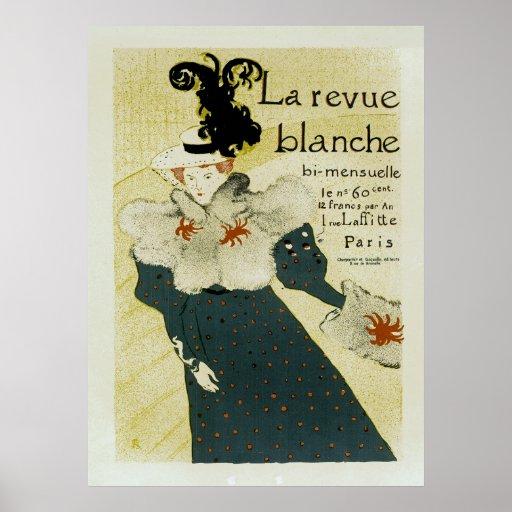 La Revue Balnche Posters