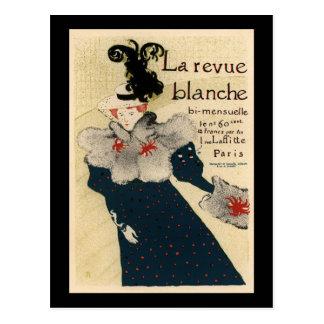 La Revue Blanche Postcard