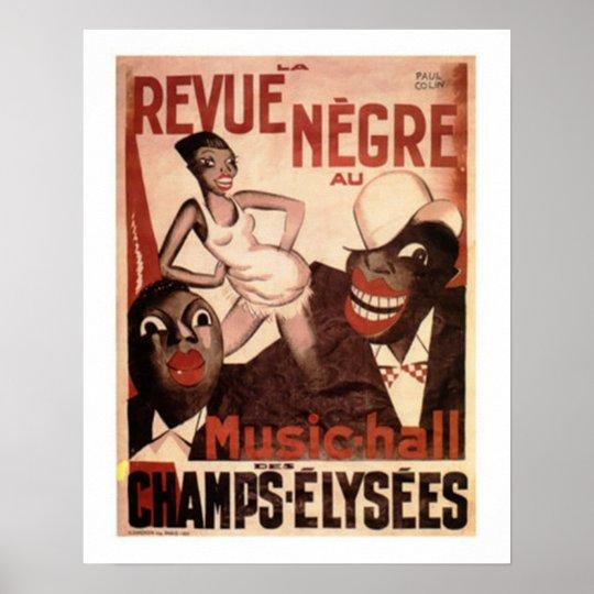La Revue Negre, c.1925 Poster