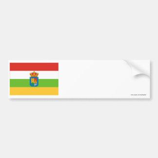 La Rioja flag Bumper Sticker