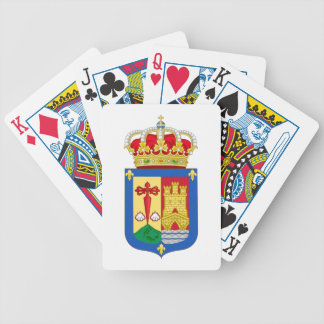 La Rioja (Spain) Coat of Arms Bicycle Poker Cards