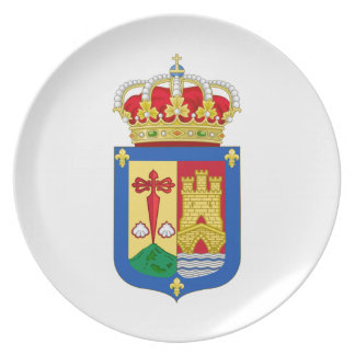 La Rioja (Spain) Coat of Arms Party Plates
