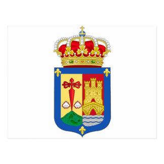 La Rioja (Spain) Coat of Arms Postcard