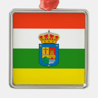 La Rioja (Spain) Flag Metal Ornament