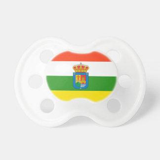 La Rioja (Spain) Flag Baby Pacifiers