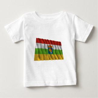 La Rioja waving flag Tshirts