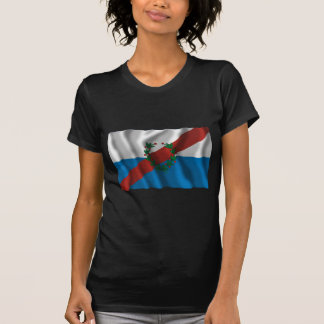La Rioja waving flag T-shirts