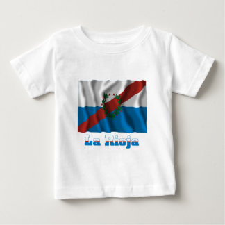 La Rioja waving flag with name Shirt
