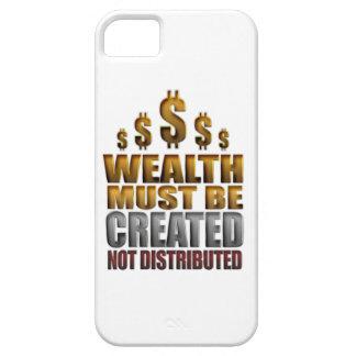 La riqueza debe ser caso no distribuido creado del funda para iPhone SE/5/5s