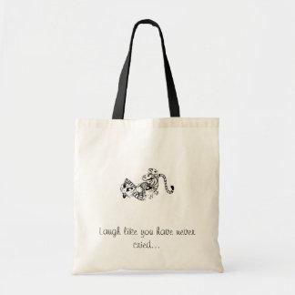 La risa como usted nunca ha llorado… bolsas lienzo