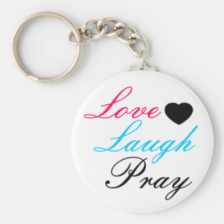 La risa del amor ruega llavero redondo tipo pin