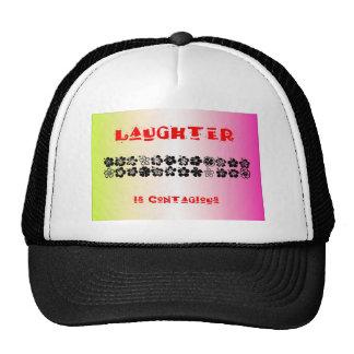 La risa es contagiosa gorra