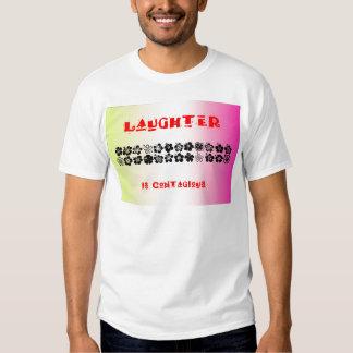 La risa es contagiosa playera