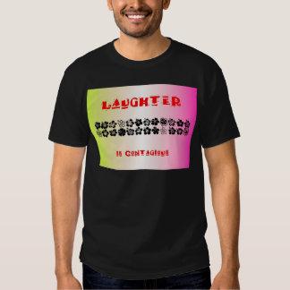 La risa es contagiosa remeras
