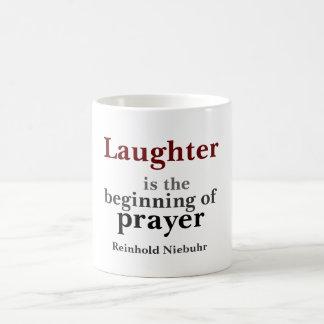La risa es el principio tazas de café