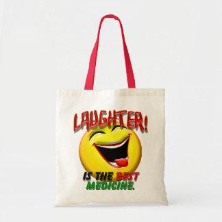 La risa es la mejor medicina bolsas