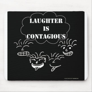 La risa es mousepad contagioso tapetes de ratón