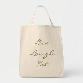 La risa viva come el tote bolsa