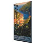 La Riviera Italienne Canvas Prints
